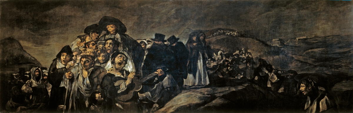Paintings to jump into, faces to shun: Robert Hughes on Goya