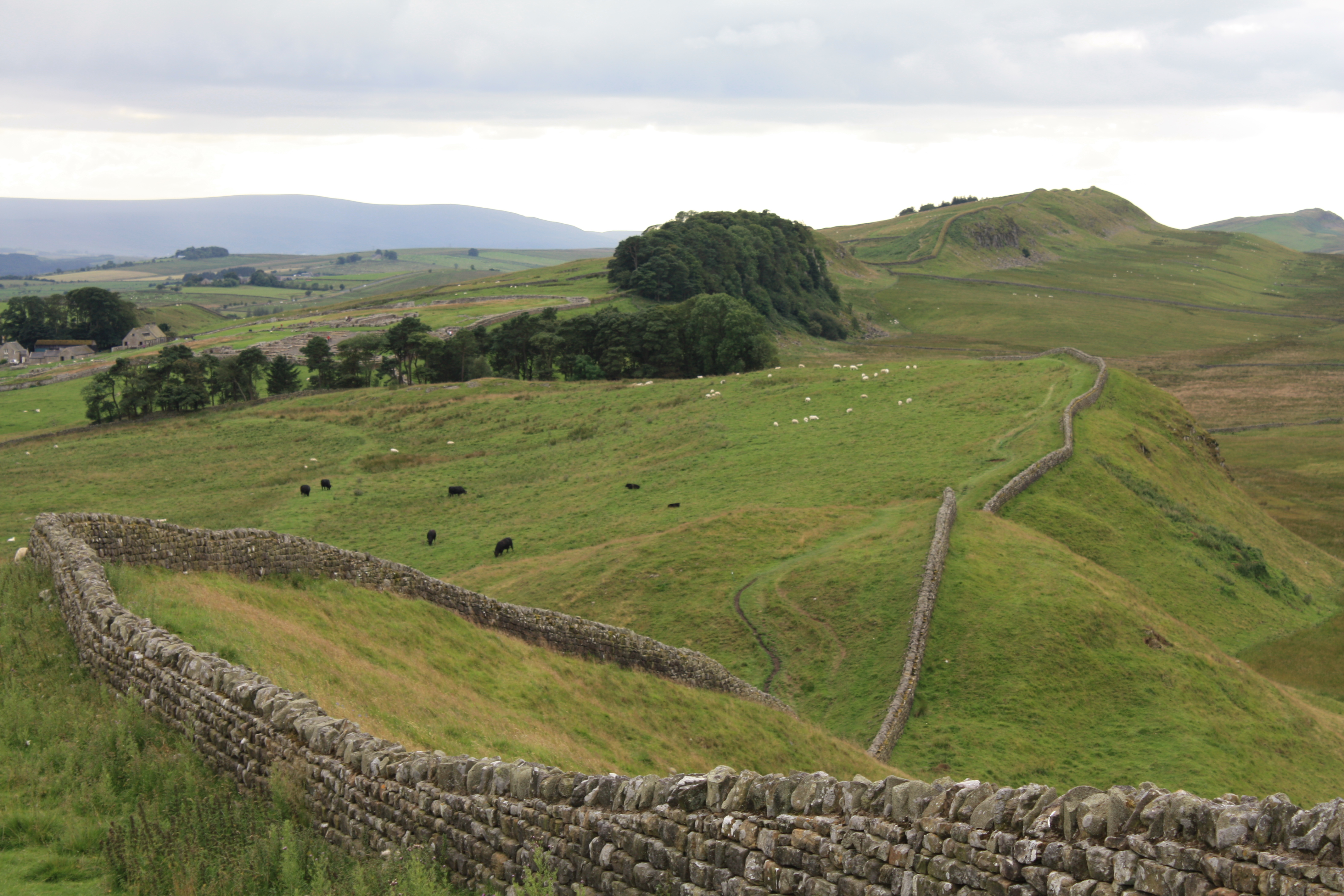 Hadrian S Wall: Heading West In The North East: A Walk Along Hadrian's