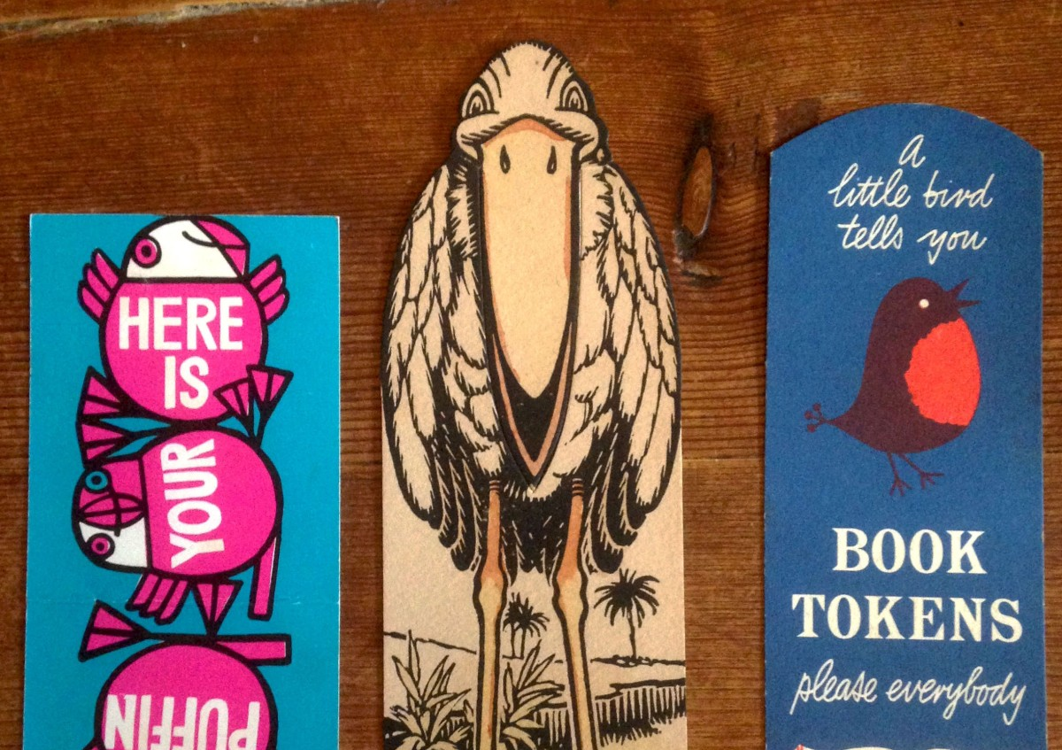 Saving Pages: A selection of vintage bookmarks