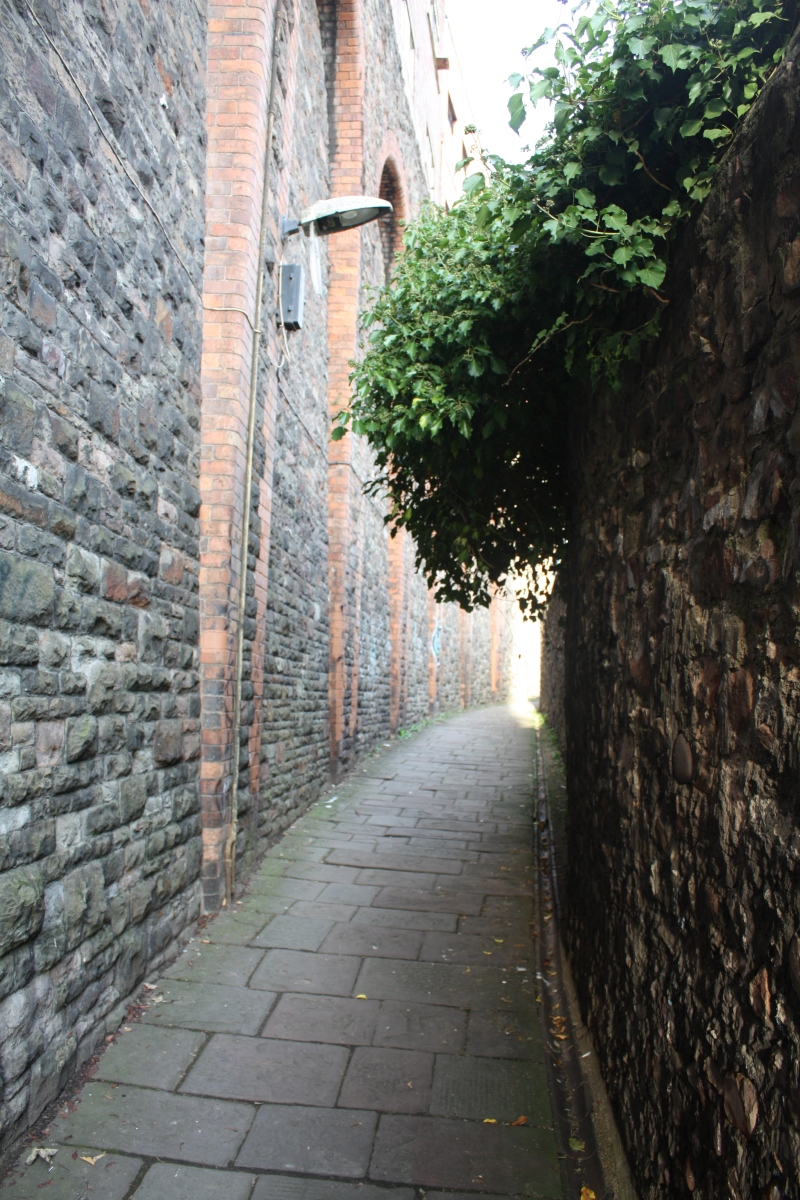 A half-hidden route to the past: Bristol's Johnny Ball Lane